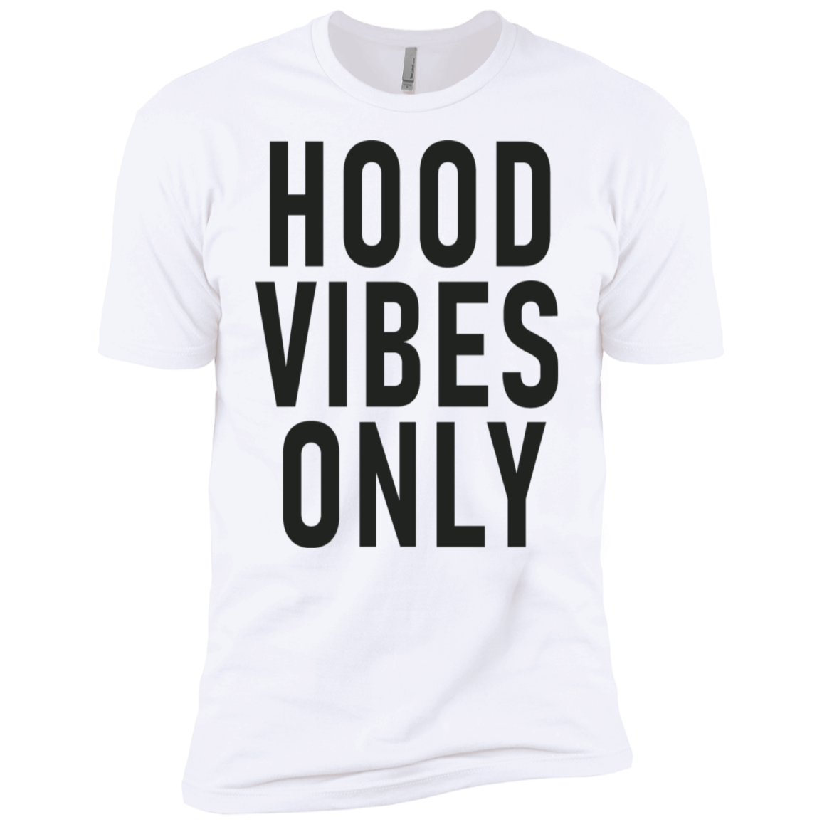Hood Vibes Only Men's Classic Tee