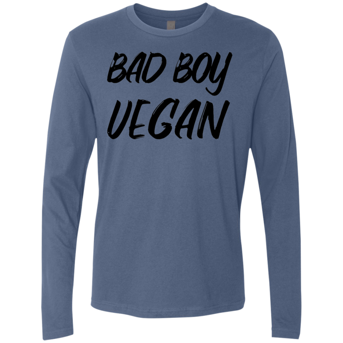 Bad Boy Vegan Men's Long Sleeve Tee - Trendy Tees