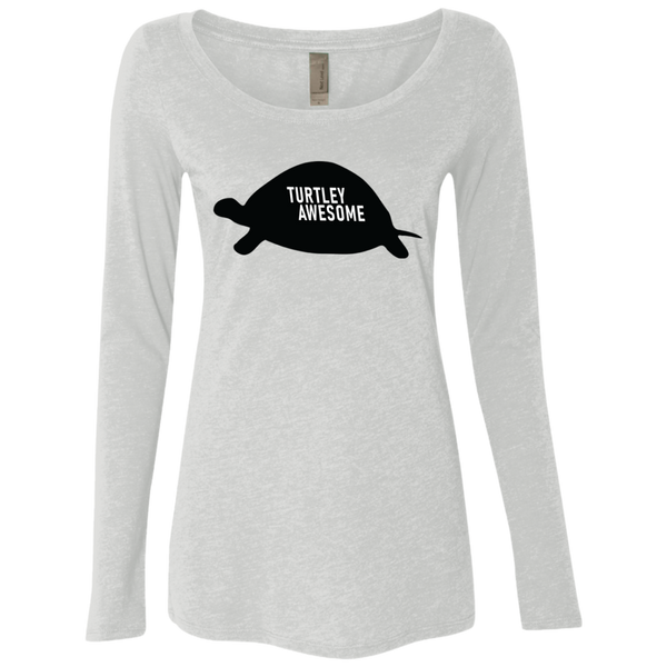 Turtley Awesome Women's Long Sleeve Tee
