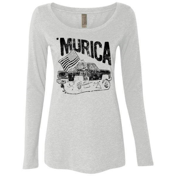 'Murica Women's Long Sleeve Tee