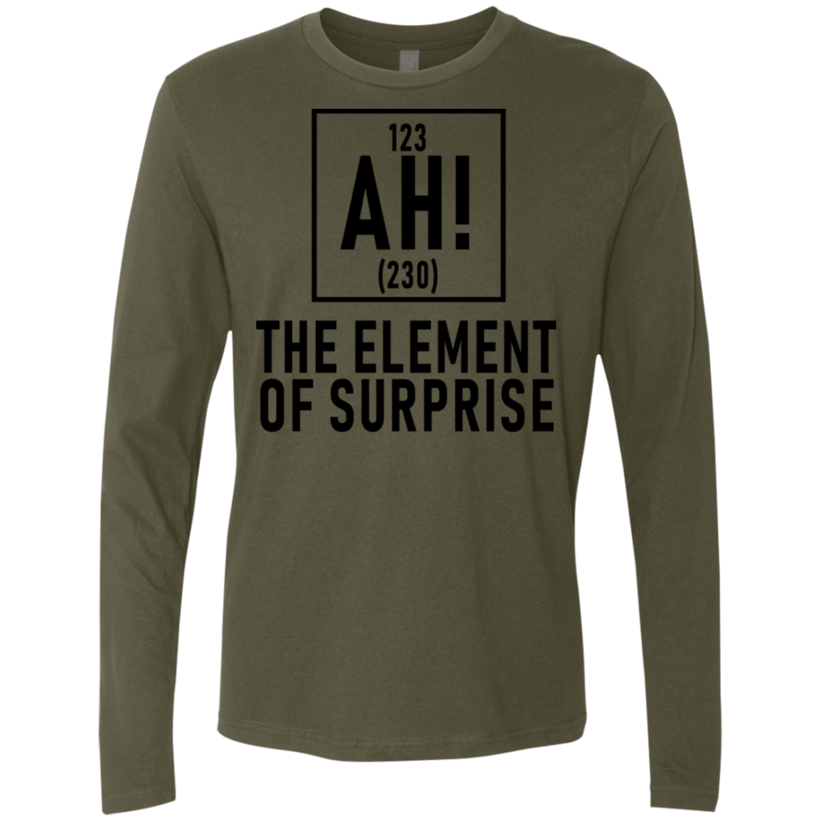 The Element Of Surprise Men's Long Sleeve Tee