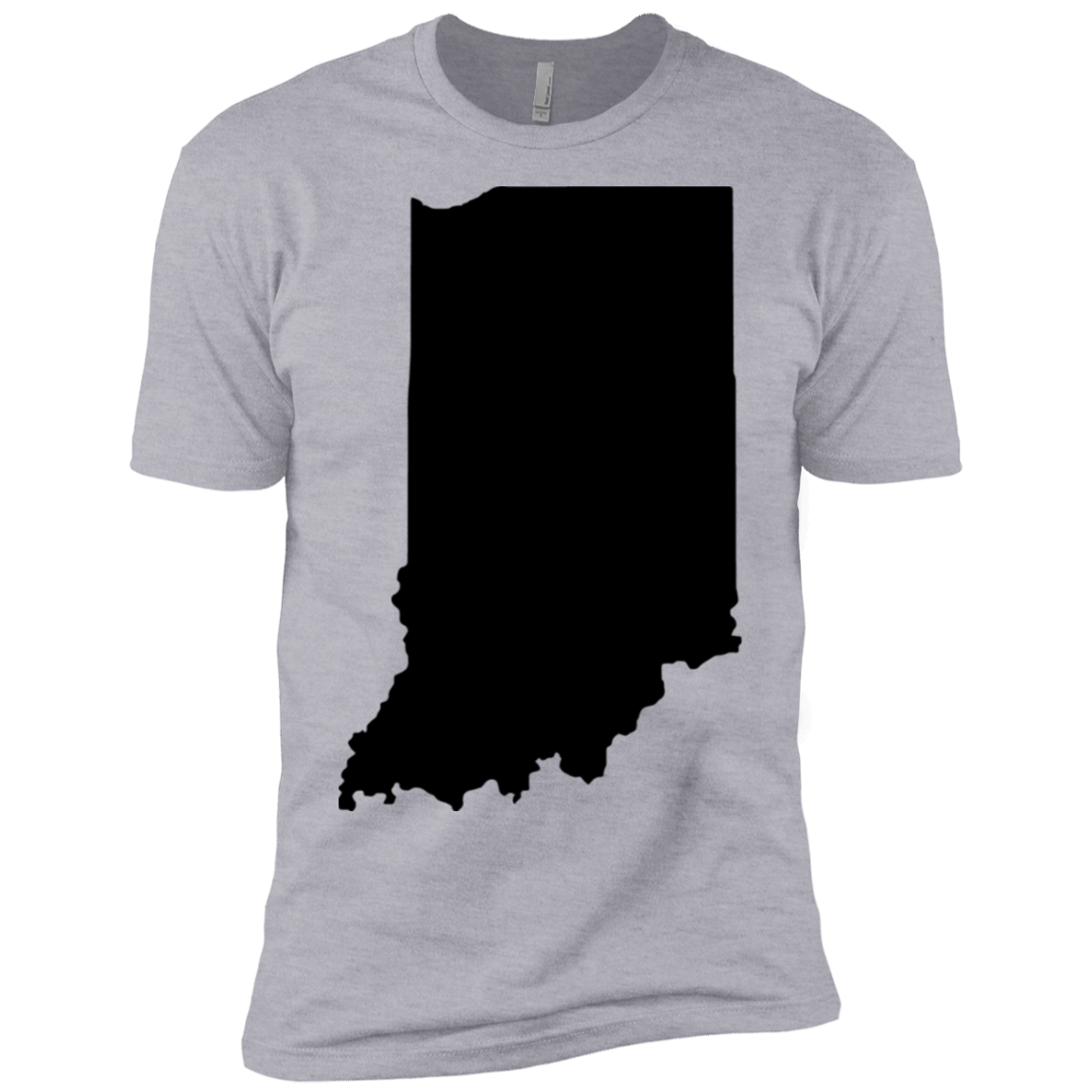 Black Indiana Men's Classic Tee