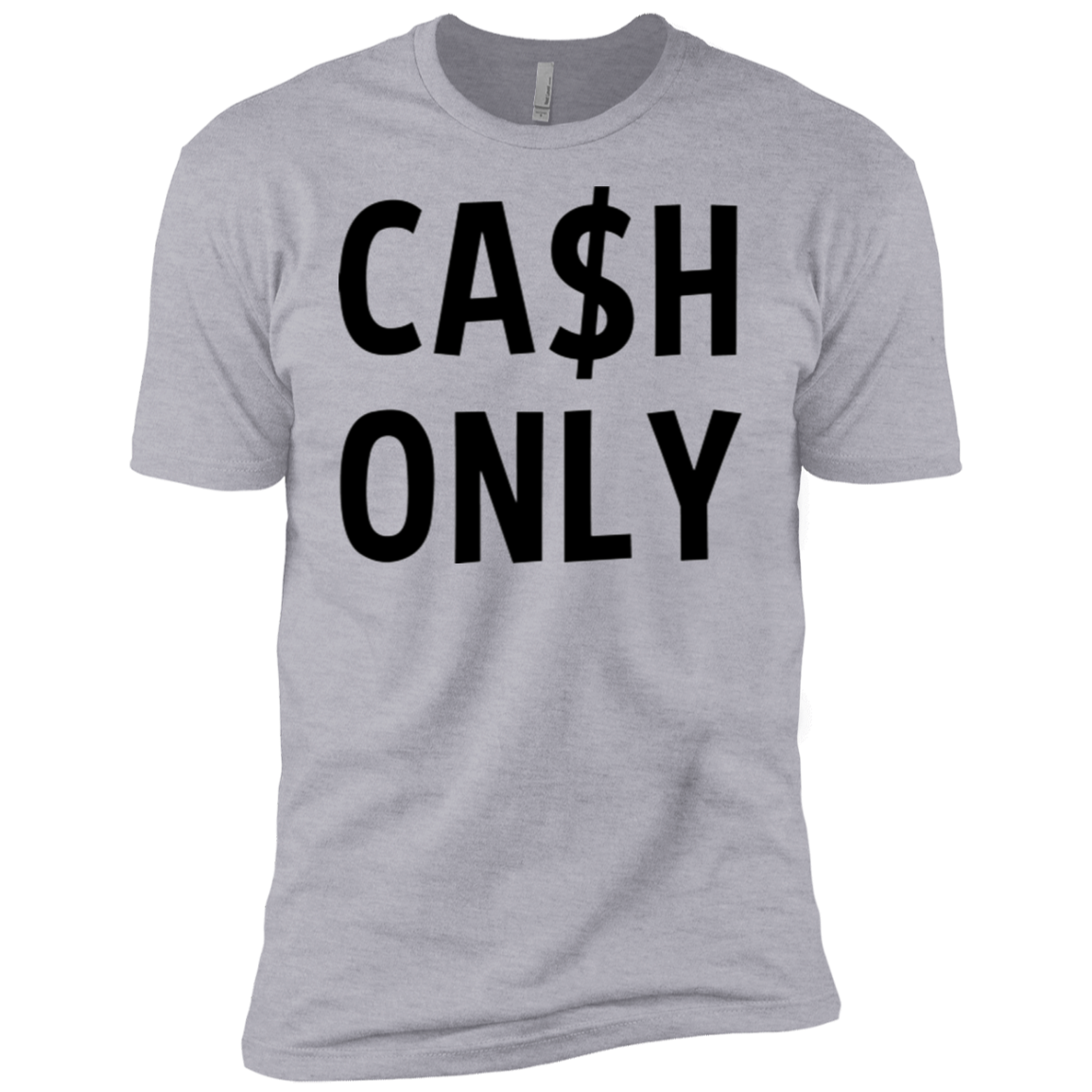 Cash Only Men's Classic Tee - Trendy Tees
