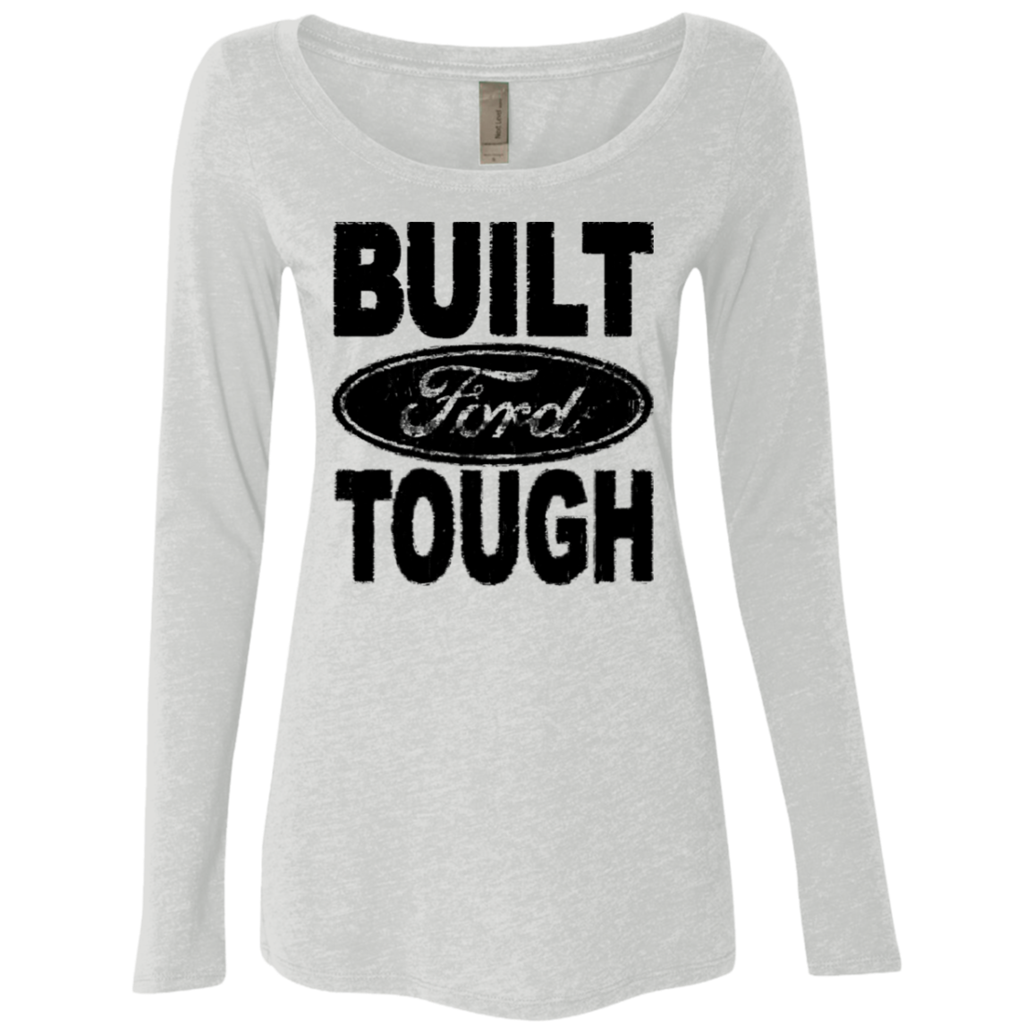 Ford – Built Tough Women's Long Sleeve Tee
