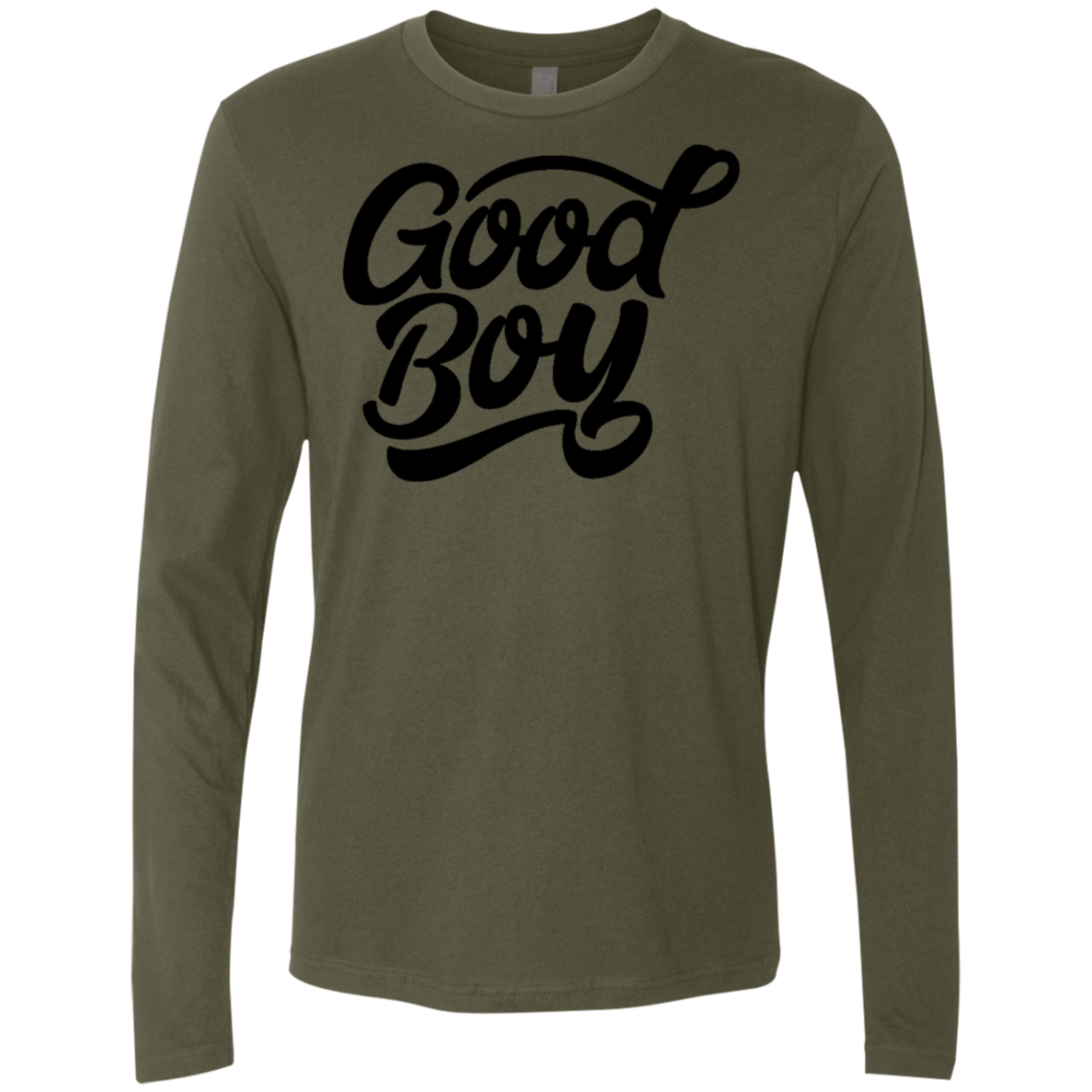 Good Boy Men's Long Sleeve Tee