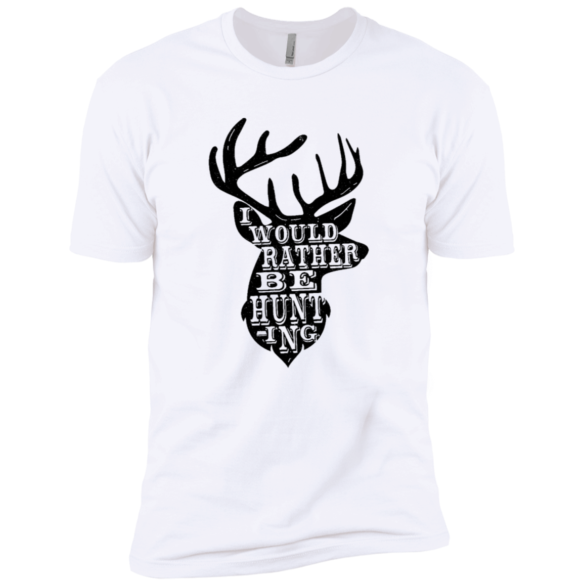 I Would Rather BE Hunting Men's Classic Tee