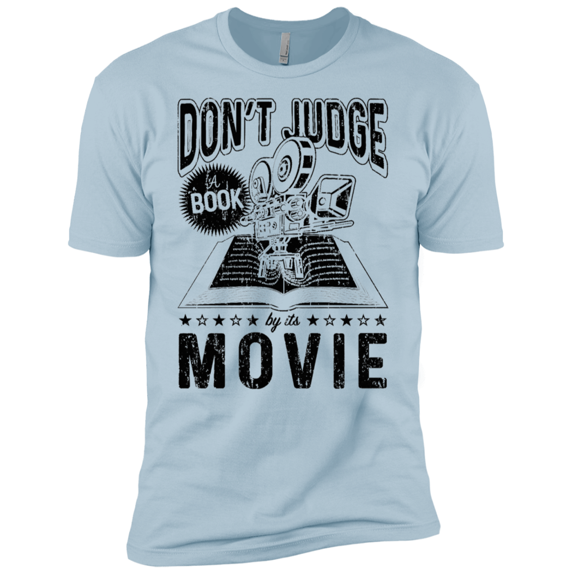 Don't Judge a Book by it's Movie Men's Classic Tee