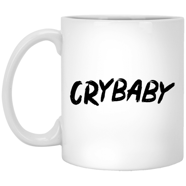 Crybaby 11 oz. White Coffee Mug - Trendy Tees