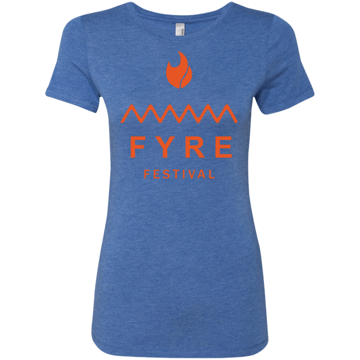 Fyre Festival was Lit Orange Women's Classic Tee - Trendy Tees