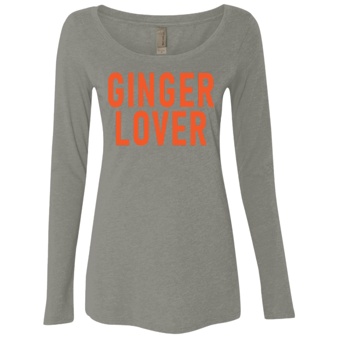 Ginger Love Women's Long Sleeve Tee