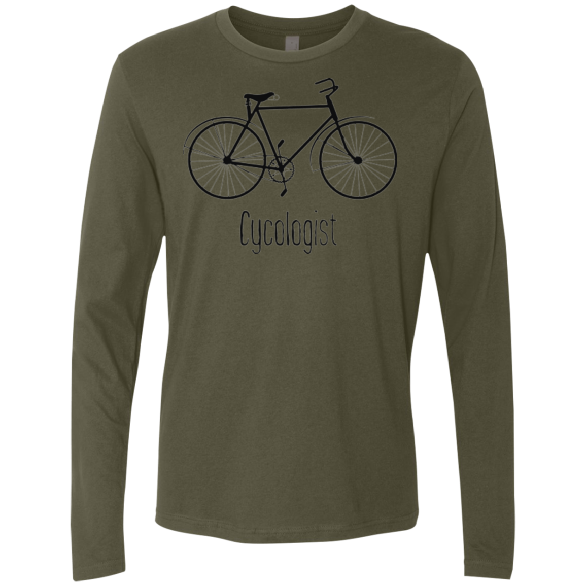 Cycologist Men's Long Sleeve Tee - Trendy Tees