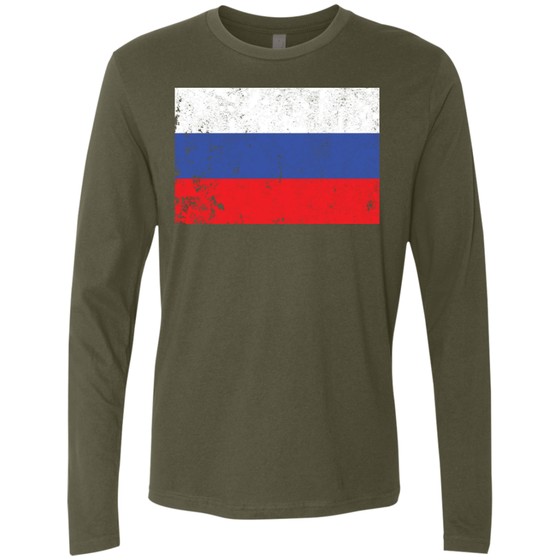 Russia Men's Long Sleeve Tee