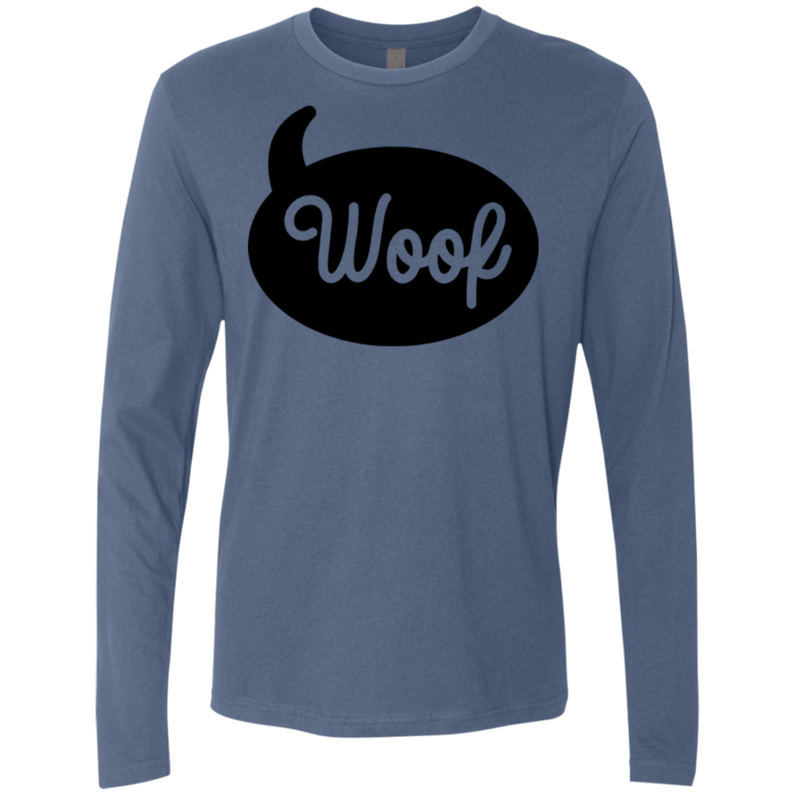 Woof Men's Long Sleeve Tee