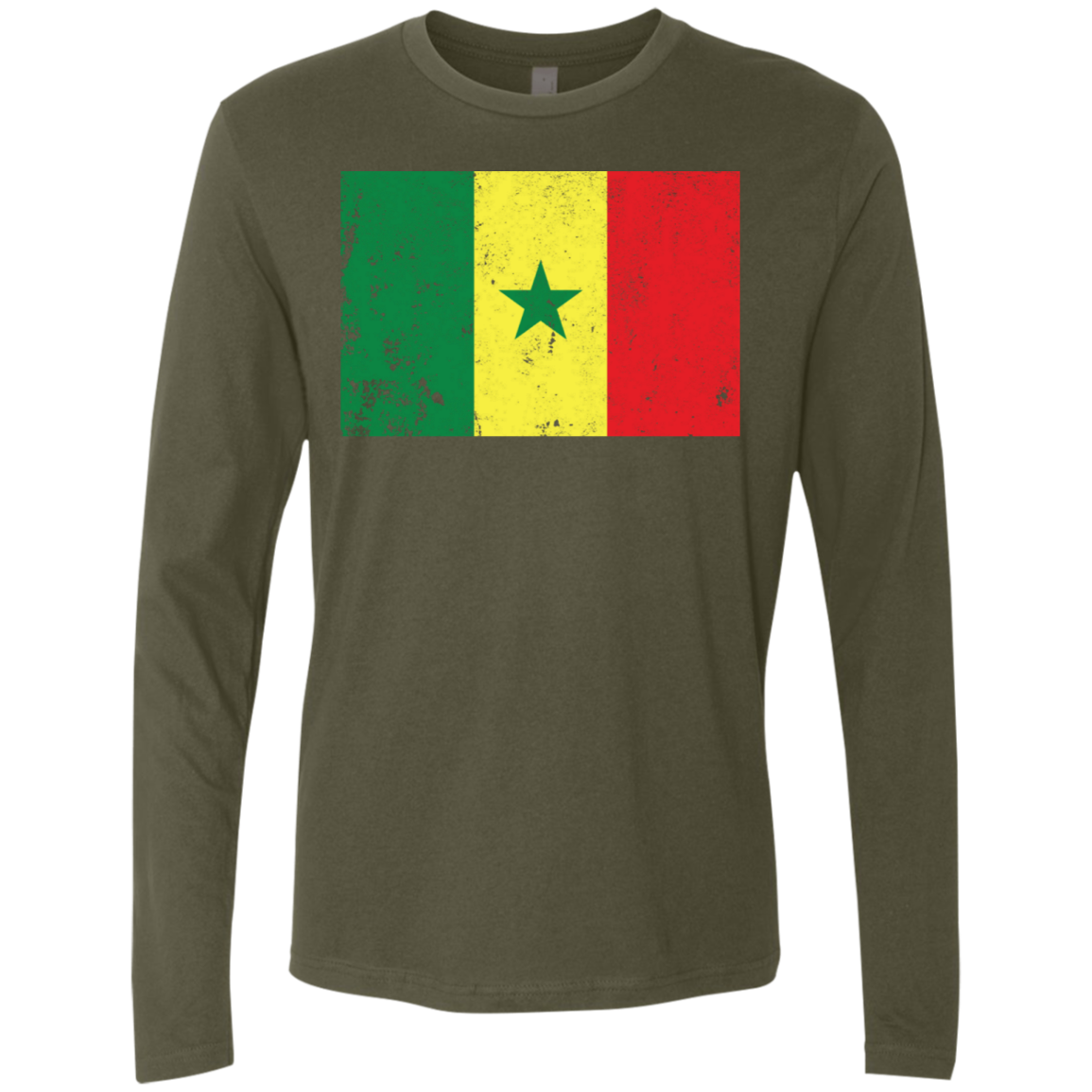 Senegal Men's Long Sleeve Tee