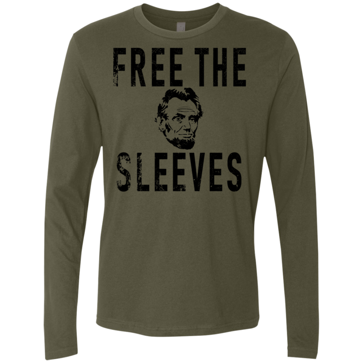 Free The Sleeves Lincoln Men's Long Sleeve Tee