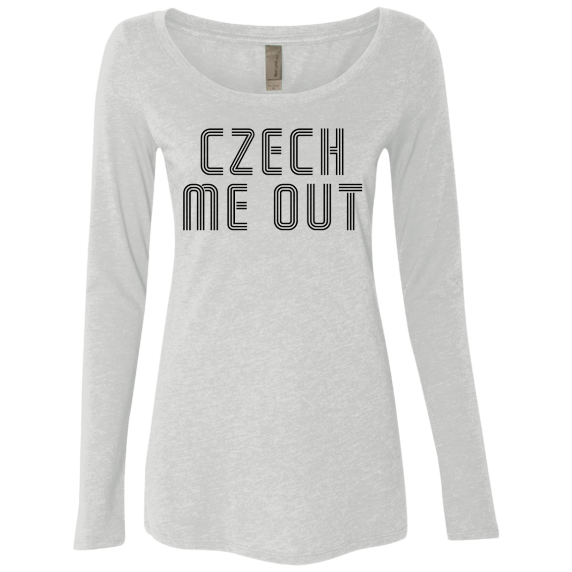 Czech Me Out Women's Long Sleeve Tee