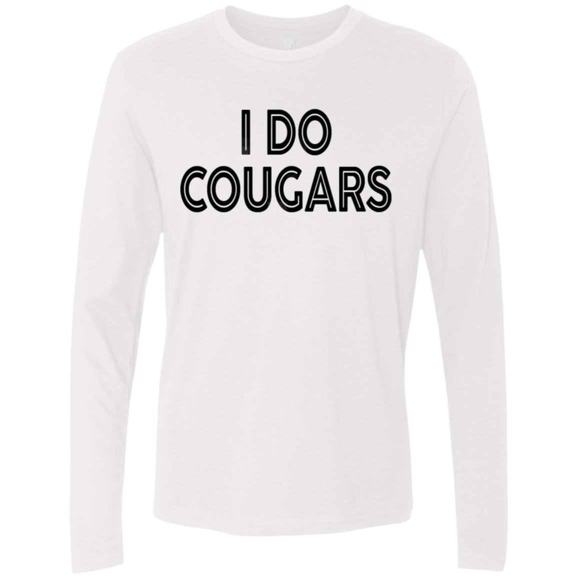 I Do Cougars Men's Long Sleeve Tee