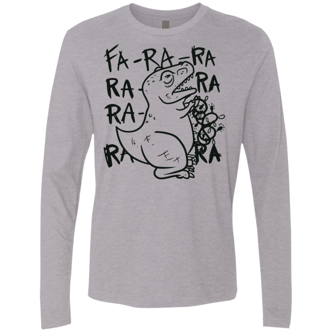Fa-Ra-Ra-Ra Men's Long Sleeve Tee
