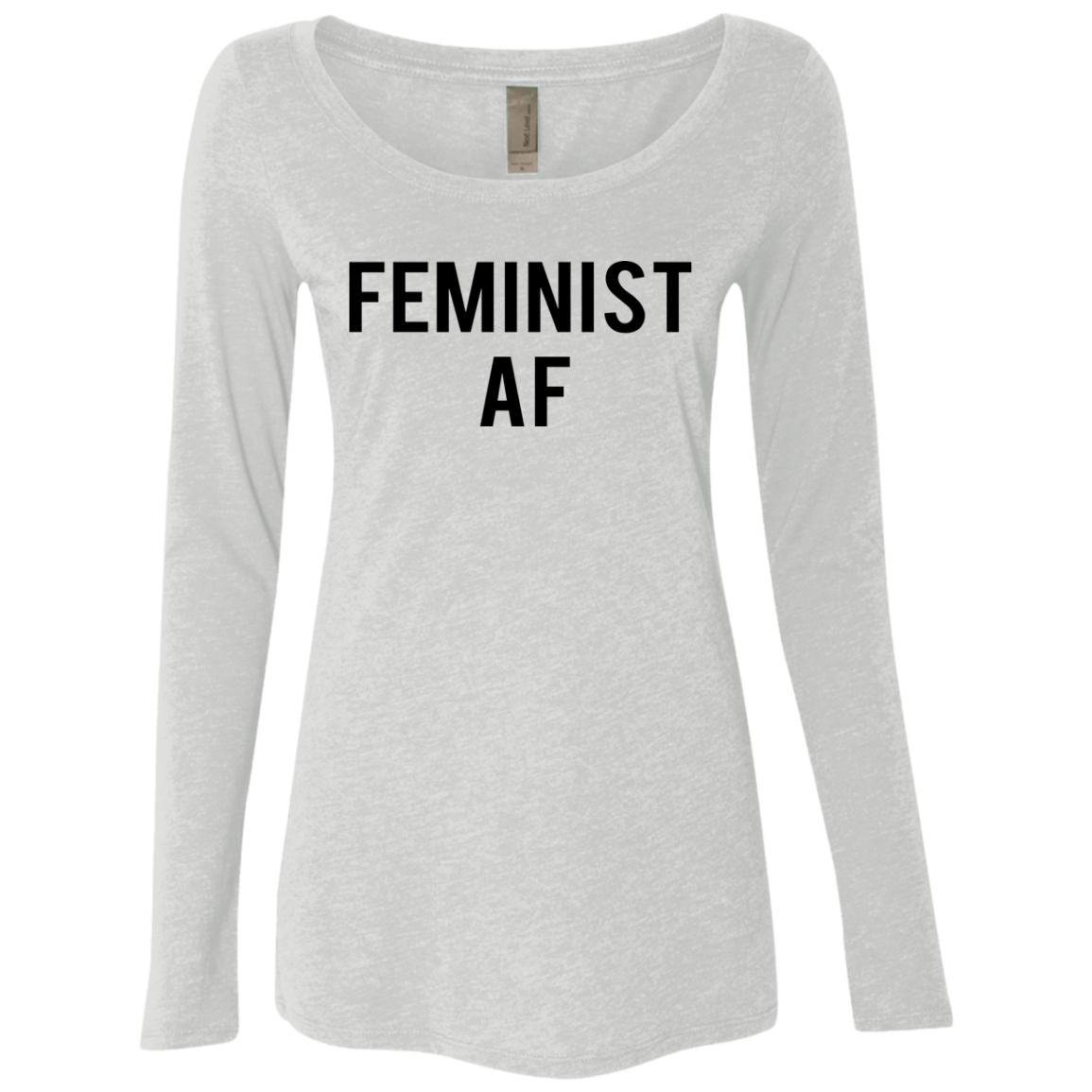 Feminist Af Women's Long Sleeve Tee