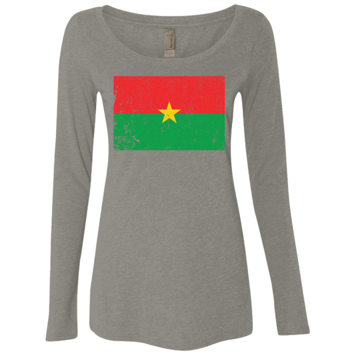 Burkina Faso Women's Long Sleeve Tee