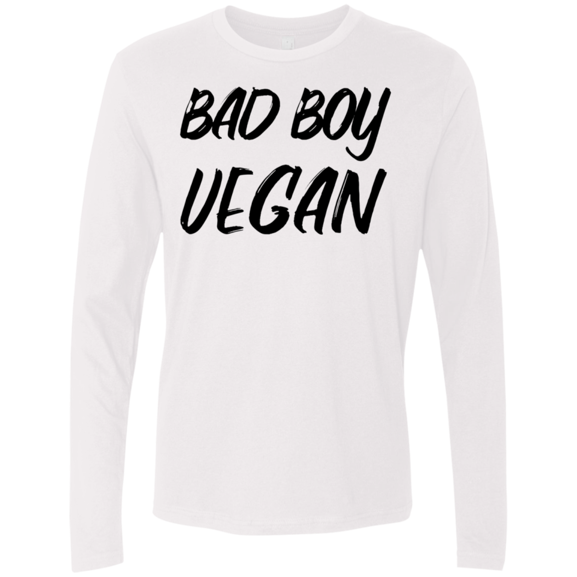 Bad Boy Vegan Men's Long Sleeve Tee