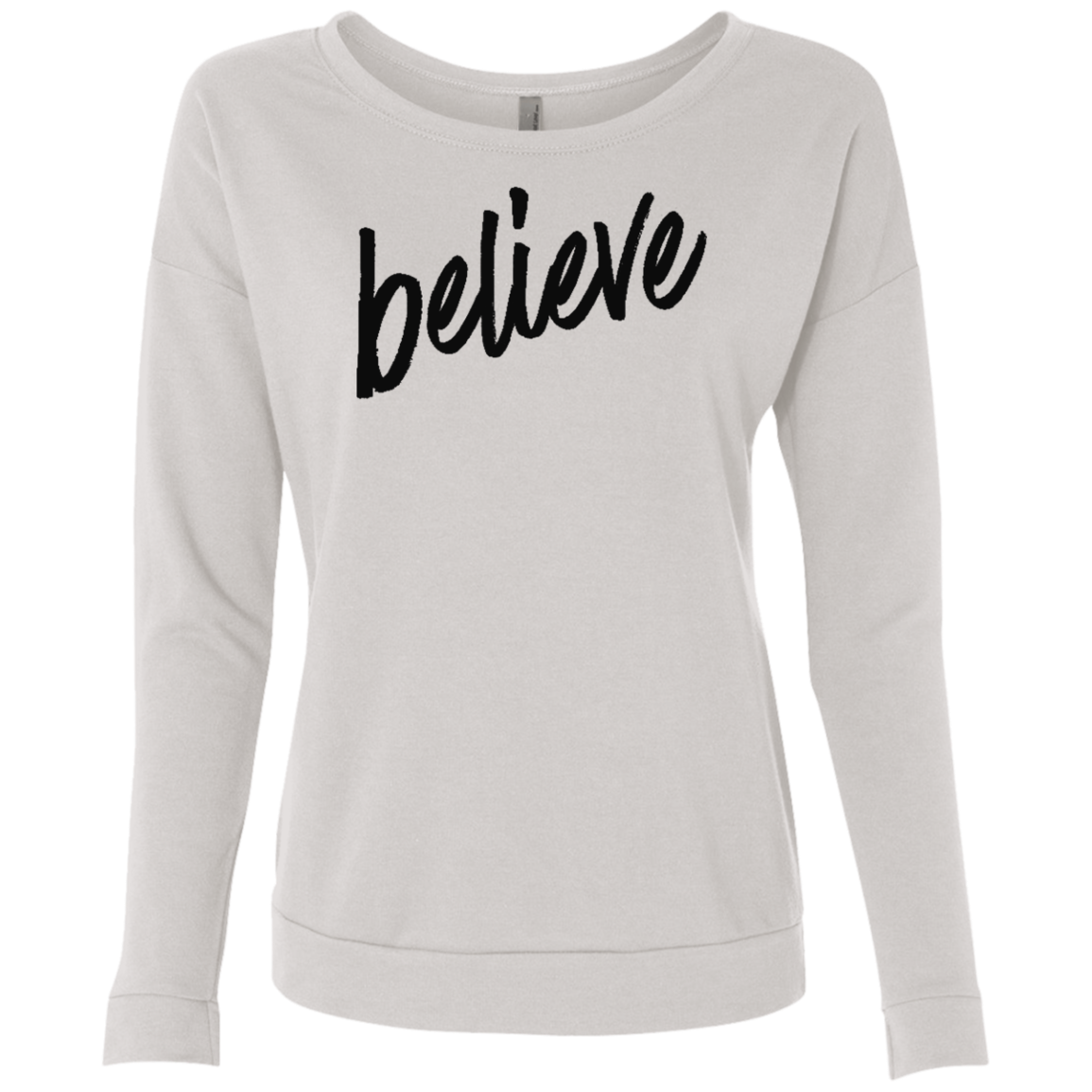 Believe Women's French Terry Scoop