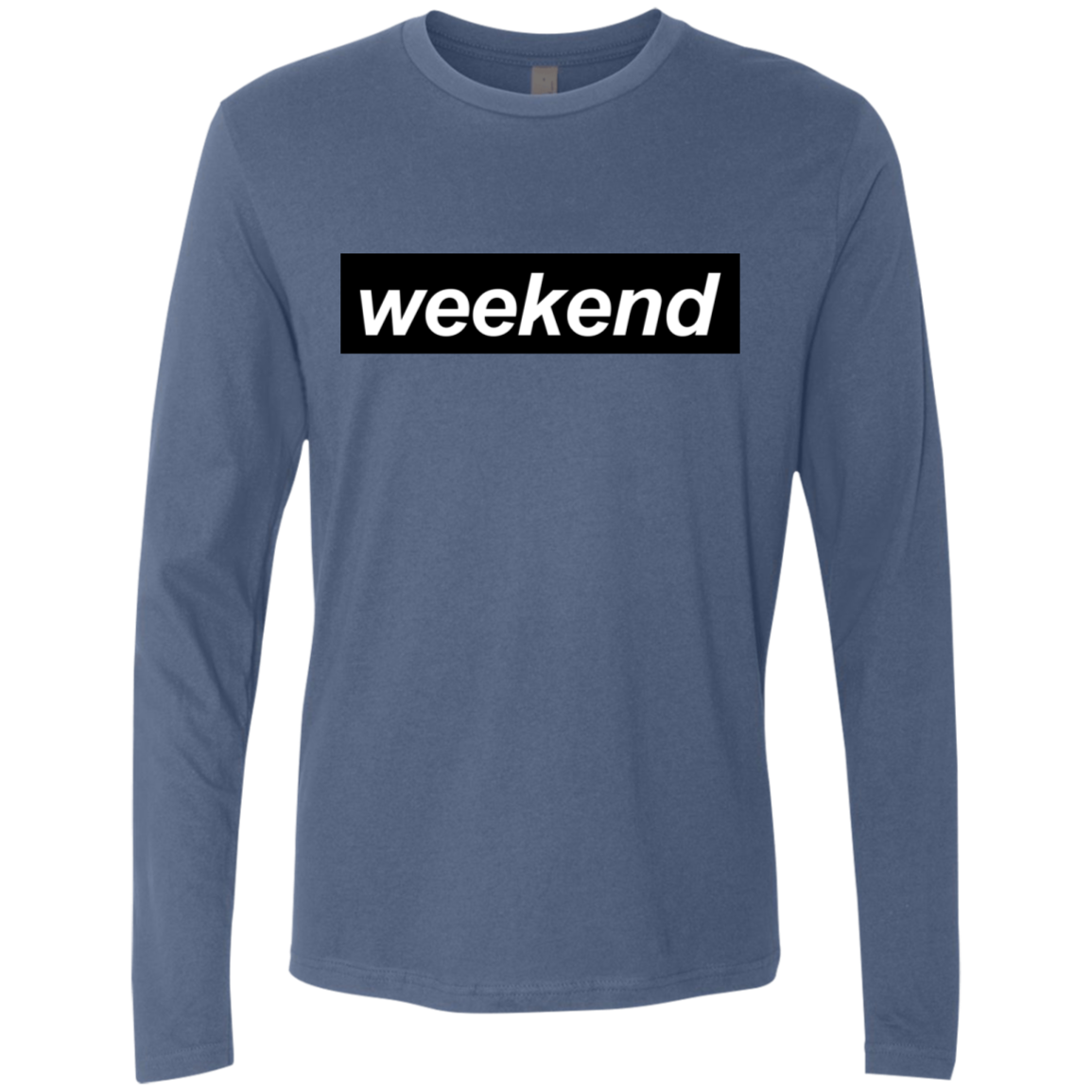 It's the Weekend Men's Long Sleeve Tee - Trendy Tees