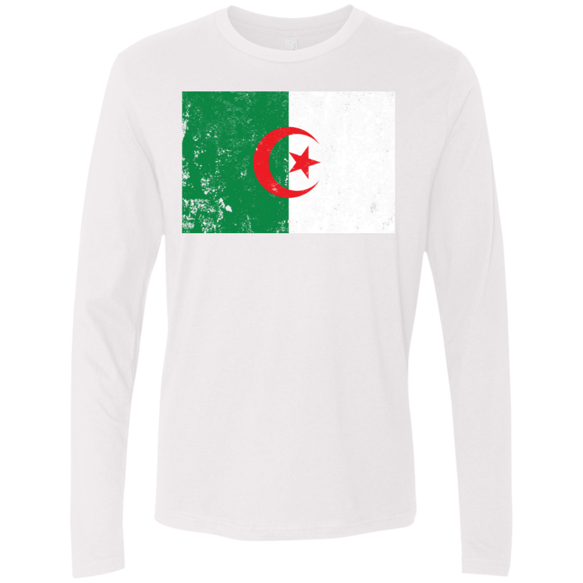 Algeria Men's Long Sleeve Tee