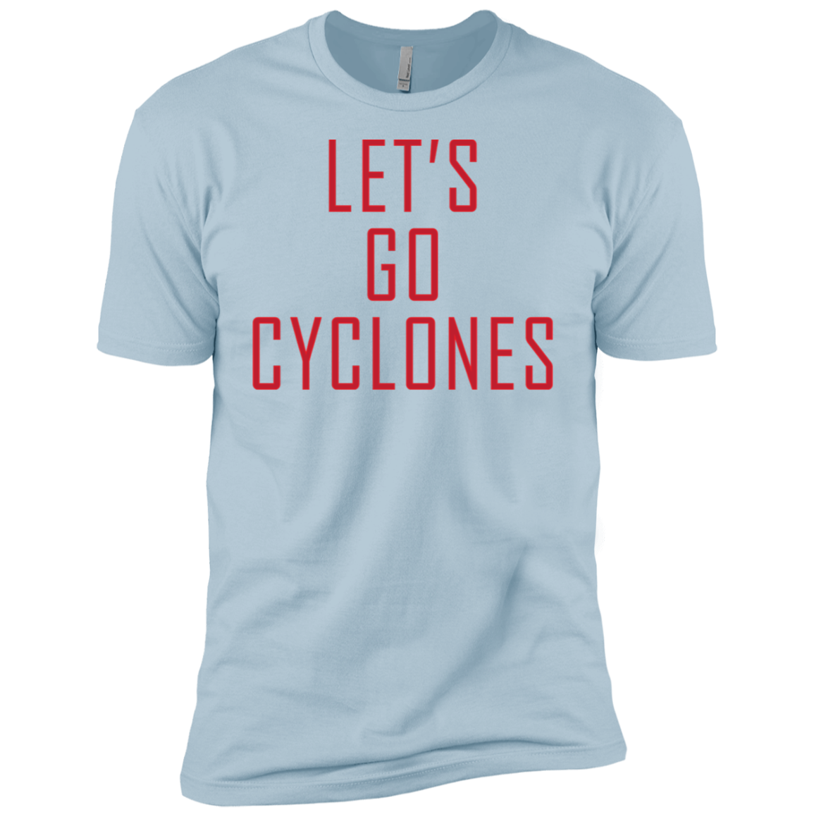 Let's Go Cyclones Men's Classic Tee