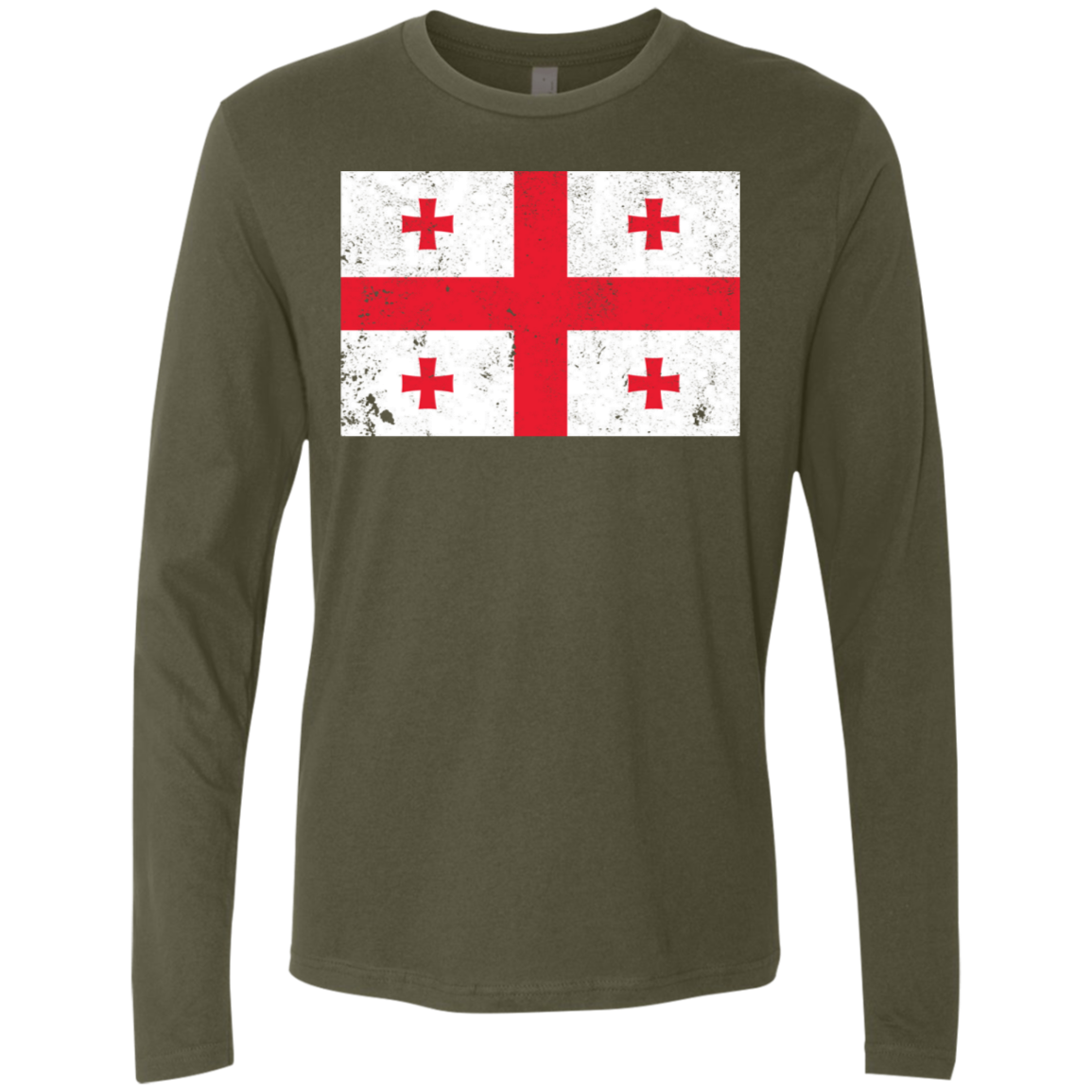 Georgia Men's Long Sleeve Tee