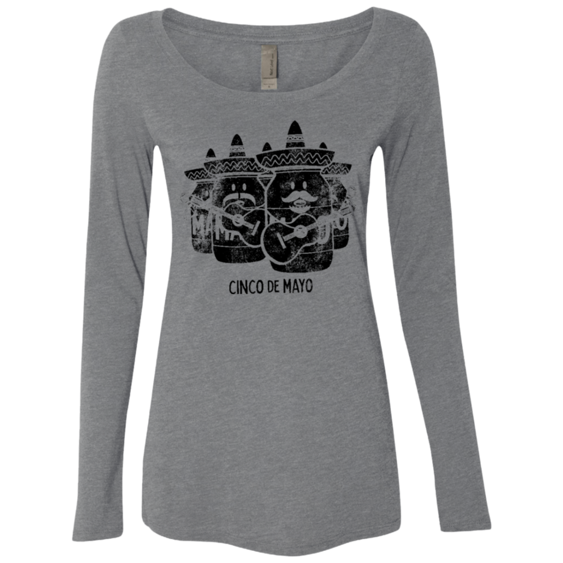 Cinco de Mayo Women's Long Sleeve Tee - Trendy Tees