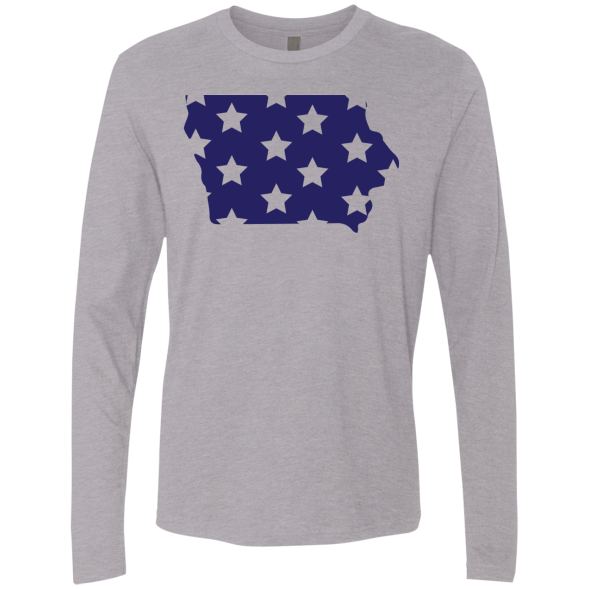 Iowa Stars Men's Long Sleeve Tee