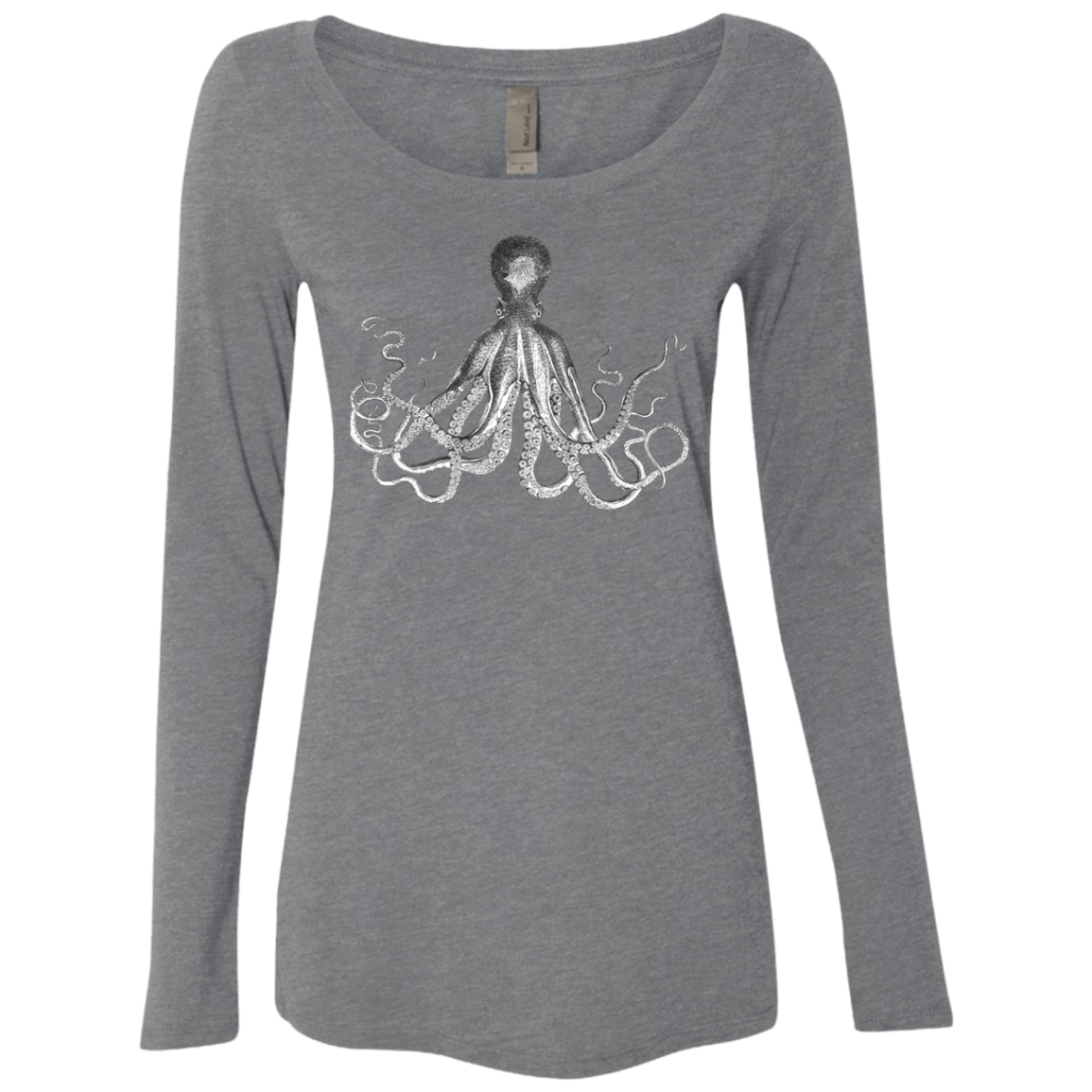 Octopus copy Women's Long Sleeve Tee
