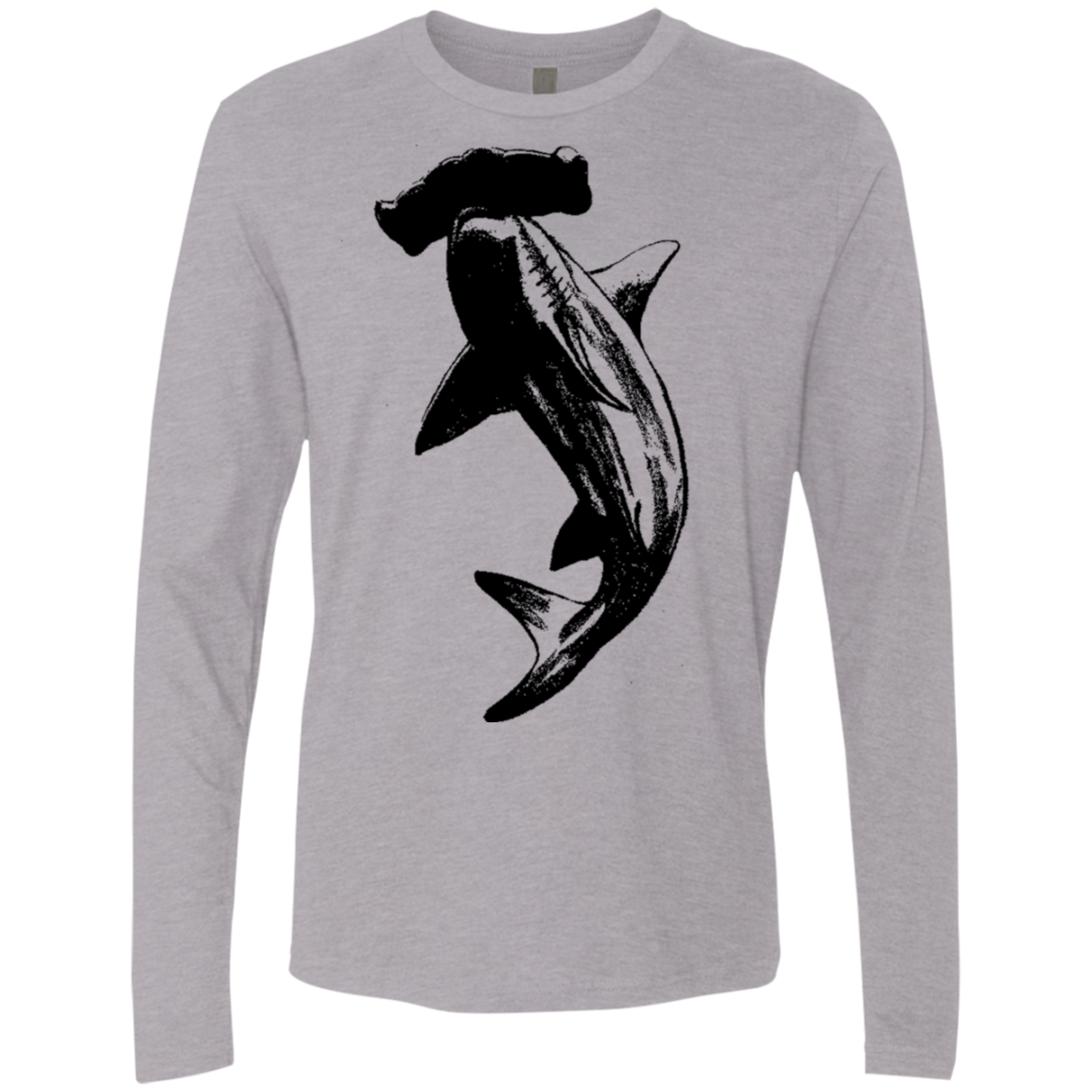 Hammer Shark Men's Long Sleeve Tee