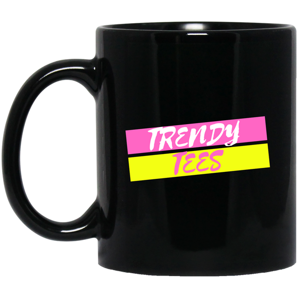 Trendy Tees Official Licensed 11 oz. Black Mug
