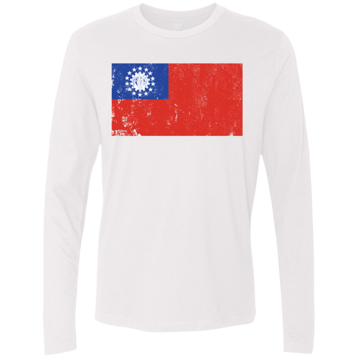 Myanmar copy Men's Long Sleeve Tee