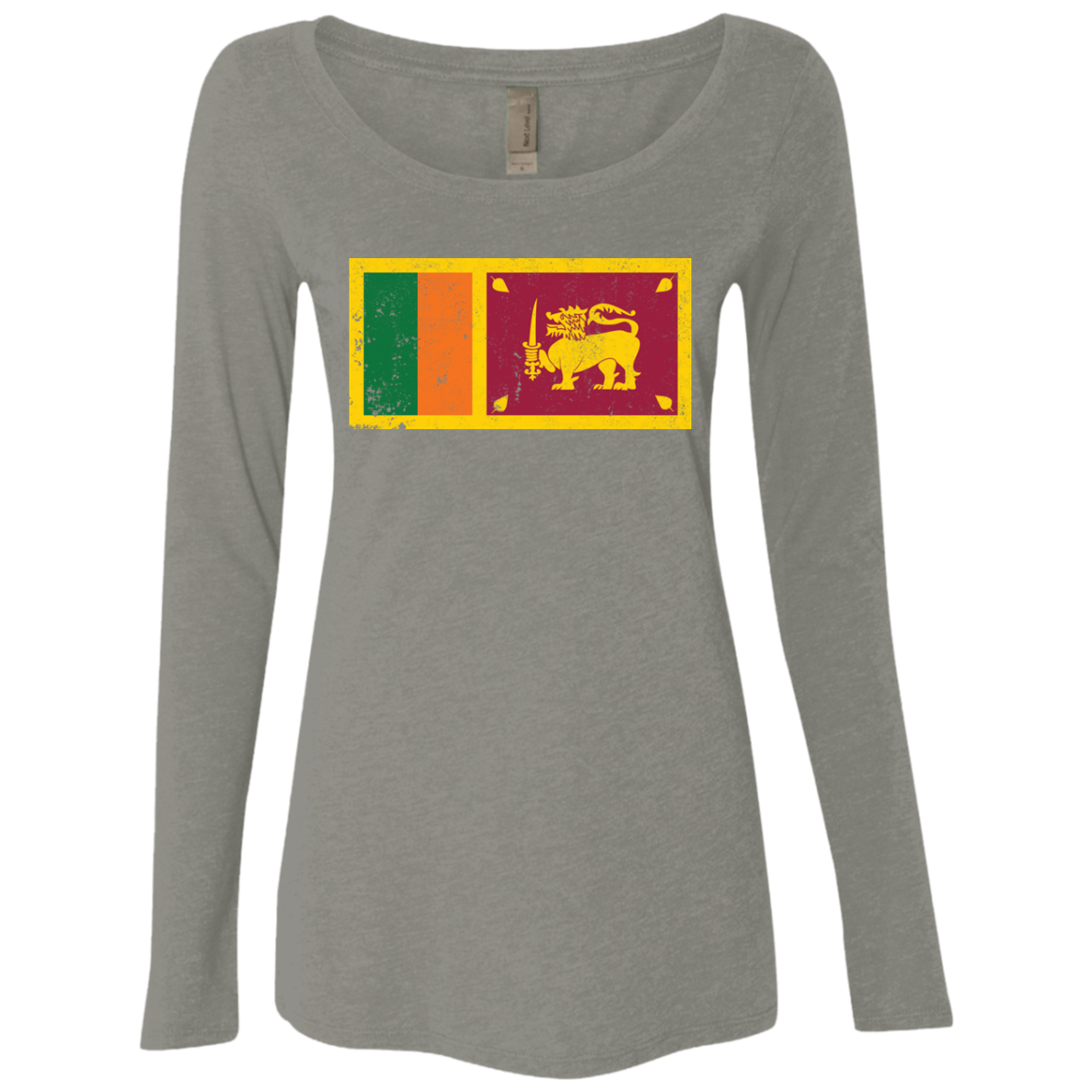 Sri Lanka Women's Long Sleeve Tee