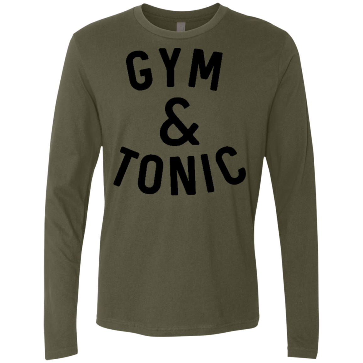 Gym and Tonic Men's Long Sleeve Tee