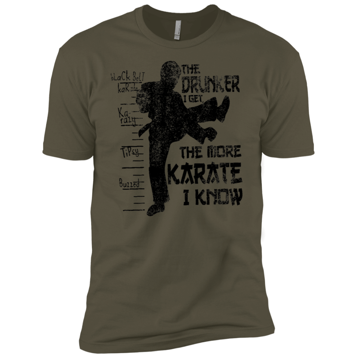 The Drunker I Get the more Karate I Know Men's Classic Tee
