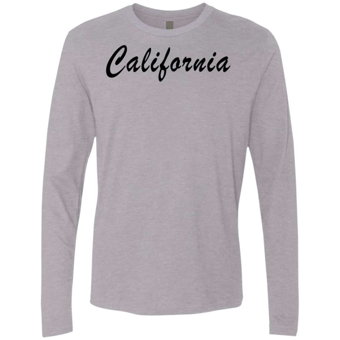 California Men's Long Sleeve Tee