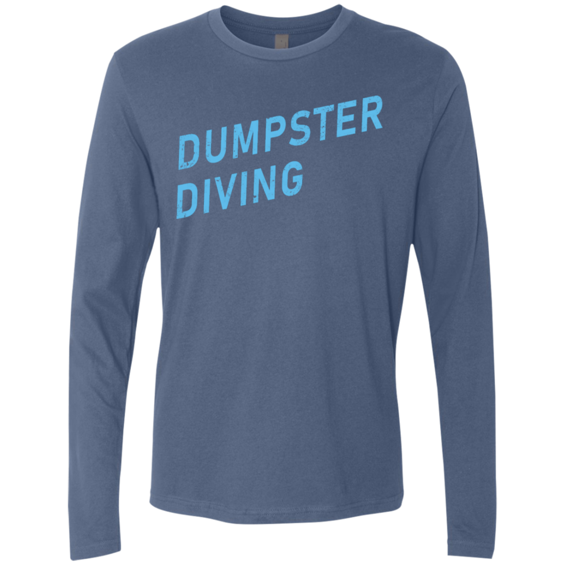Dumpster Diving Men's Long Sleeve Tee