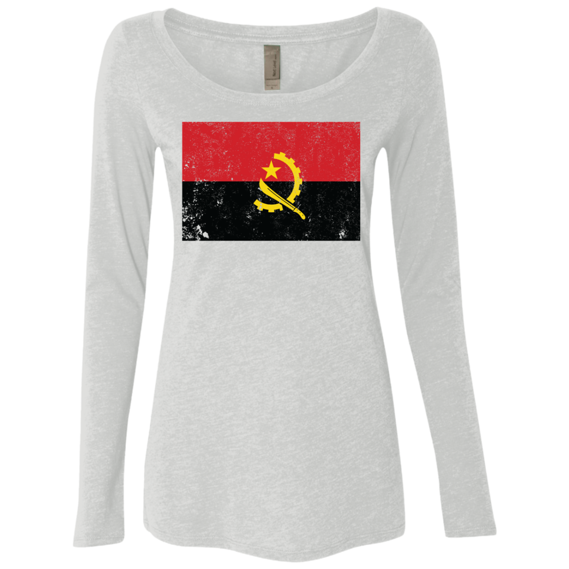 Angola Women's Long Sleeve Tee