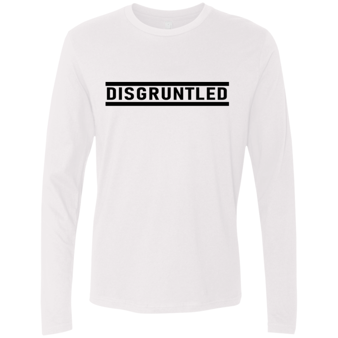 Disgruntled Men's Long Sleeve Tee