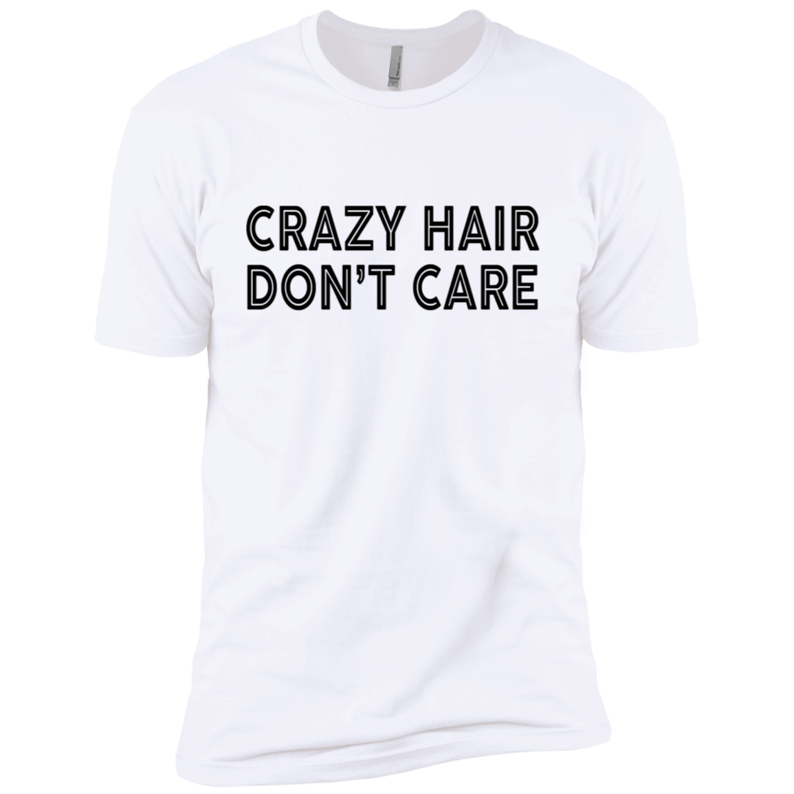 Crazy Hair Don't Care Men's Classic Tee