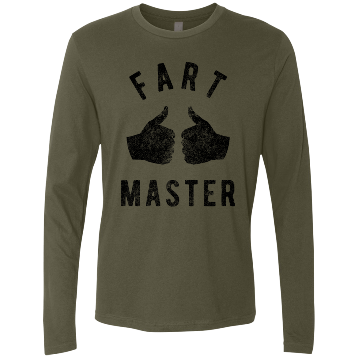 Fart Master Men's Long Sleeve Tee