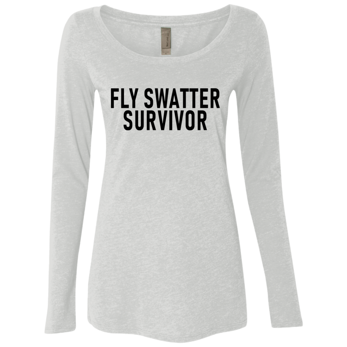 Fly Swatter Survivor Women's Long Sleeve Tee
