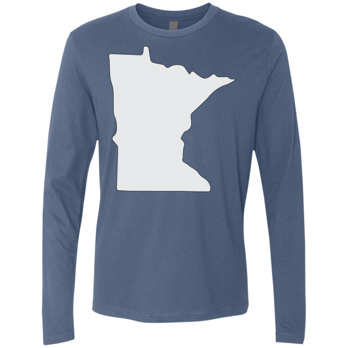 Minnesota Gray Men's Long Sleeve Tee