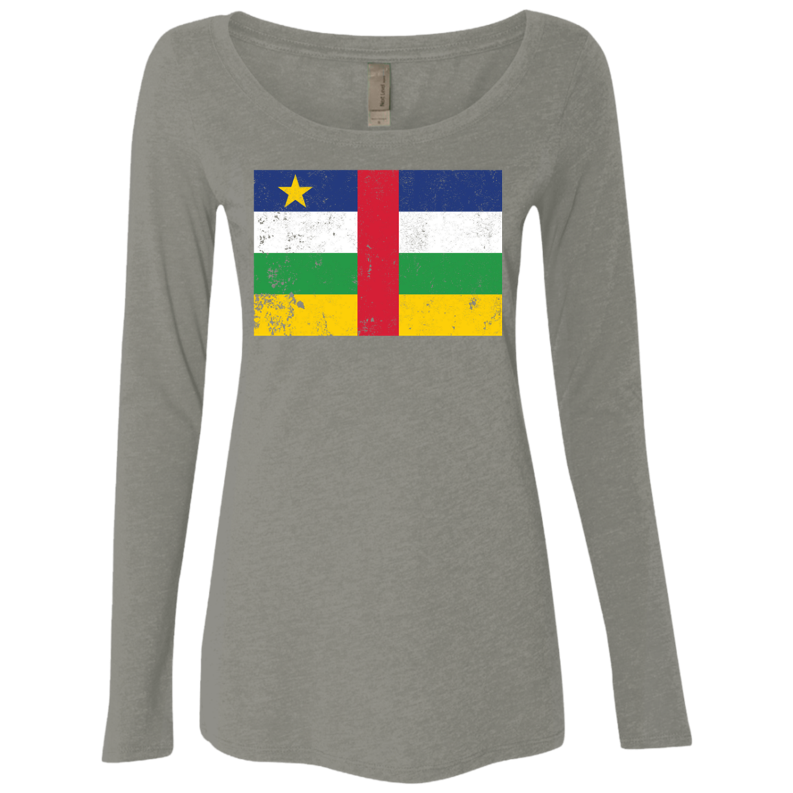 Central African Republic Women's Long Sleeve Tee