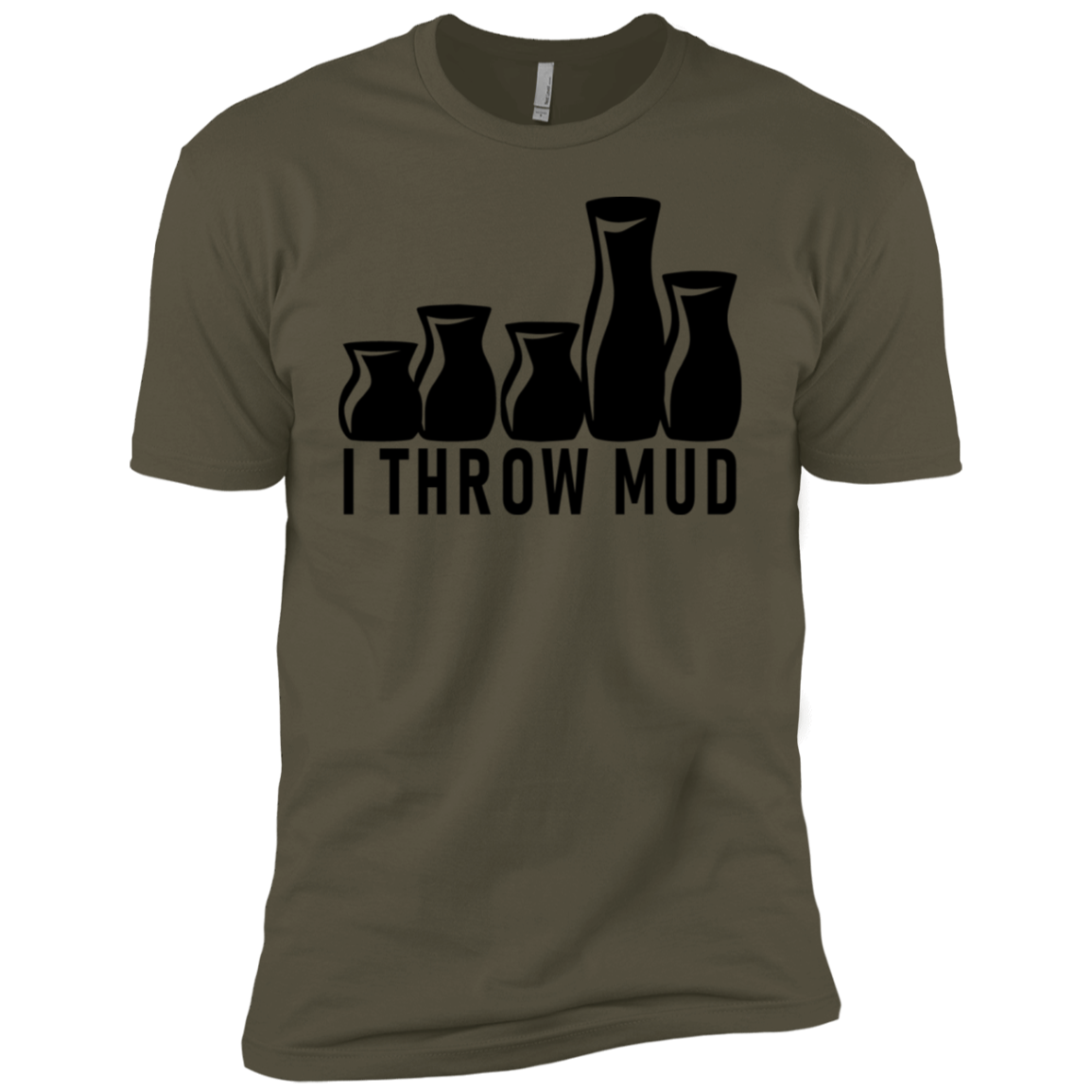 I Throw Mud Men's Classic Tee