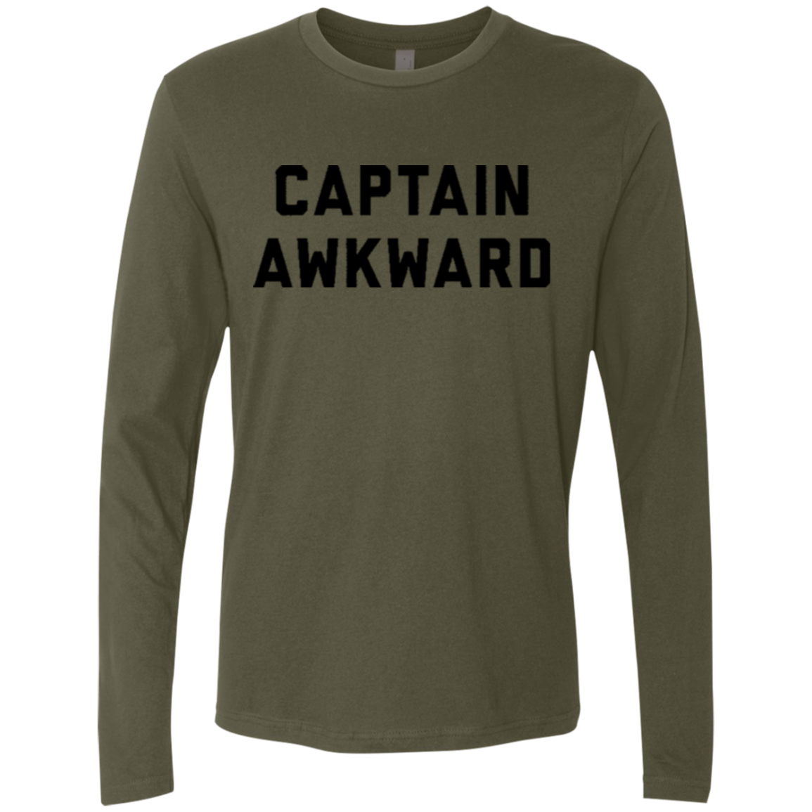 Captain Awkward Men's Long Sleeve Tee - Trendy Tees